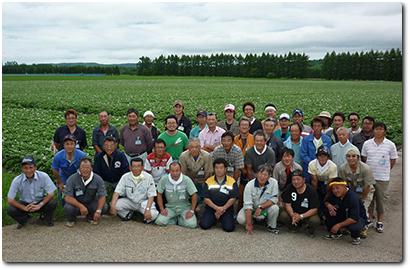 馬鈴薯減農薬研究部会生産者