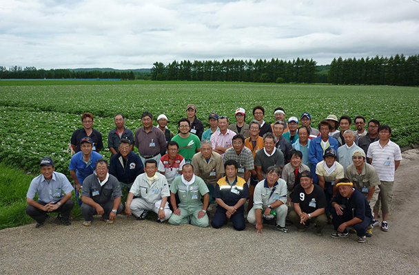 訓子府町馬鈴薯耕作組合 減農薬研究部会 会員
