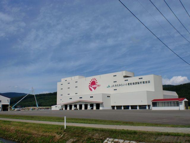 麦乾燥調製貯蔵施設