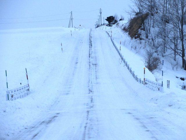 雪道の様子