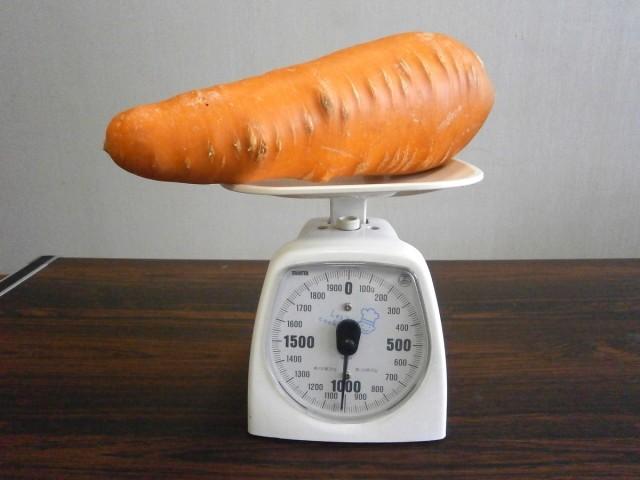 1kgにんじん