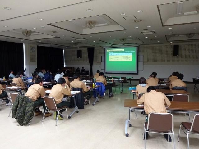 営農技術指導研修の様子