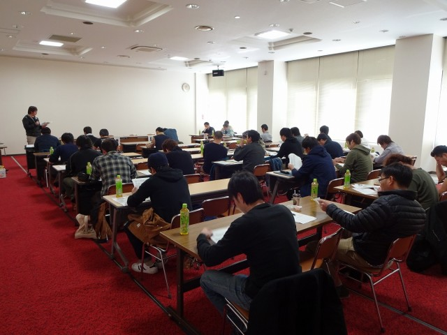 試験成績検討会の様子2