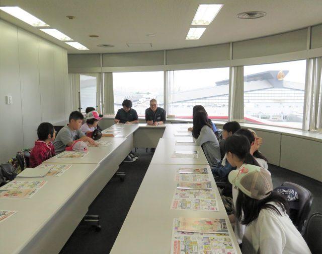 大田市場で勉強