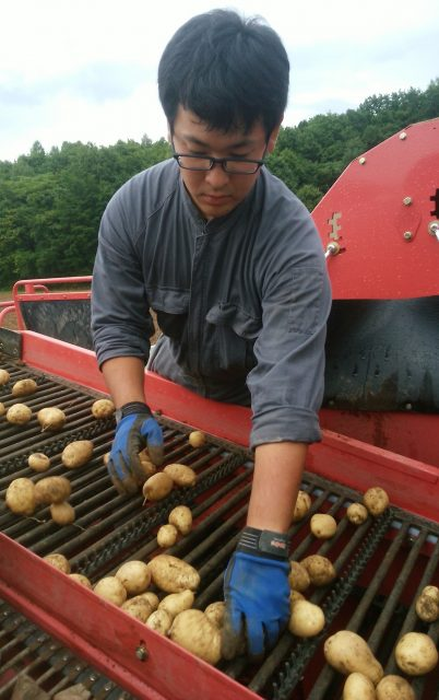 農家実習の様子2