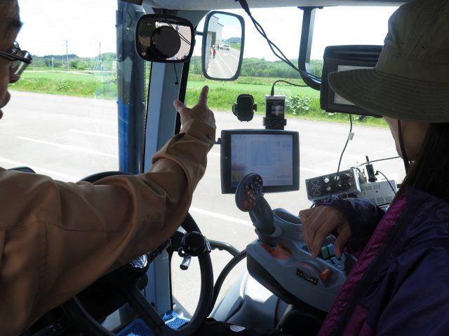 トラクター試乗体験2