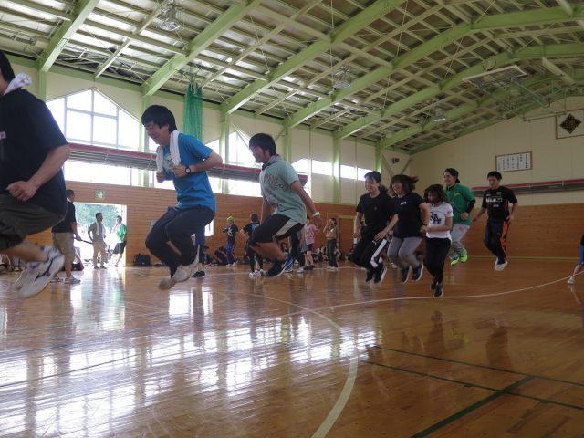 スポーツ交流会の様子3