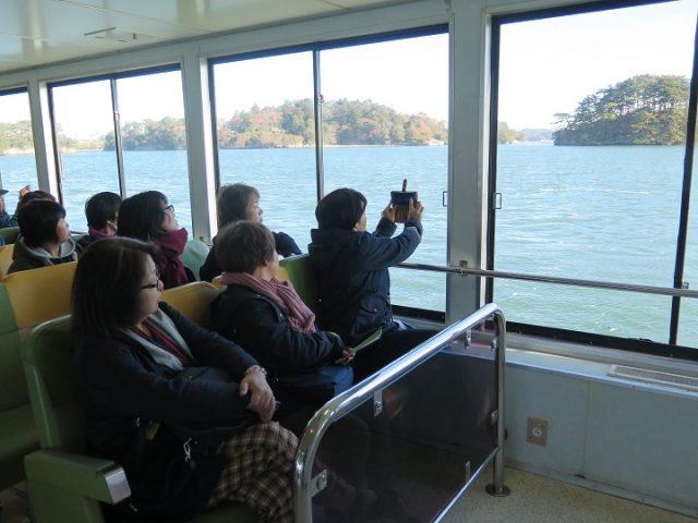 松島遊覧船観光
