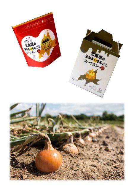 北海道の玉ねぎまるごとスープカレー