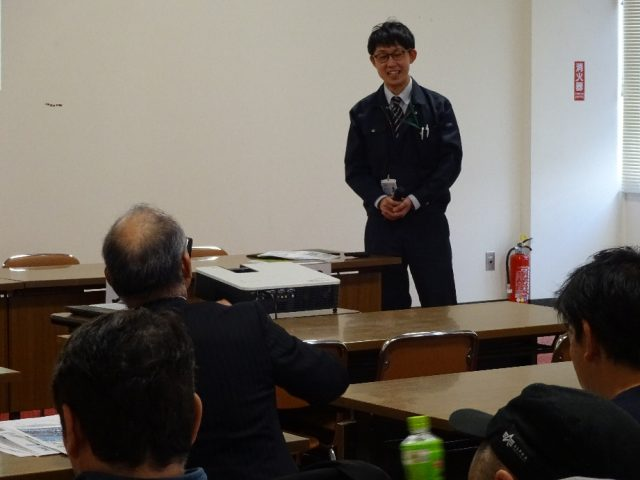 訓子府町メロン振興会講習会の様子2