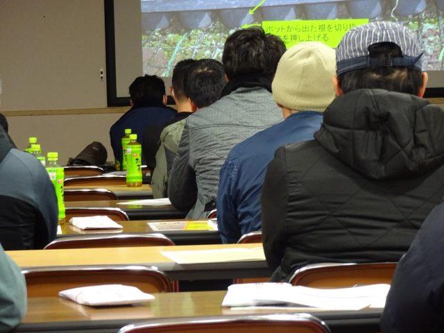 玉ねぎ培土講習会の様子2