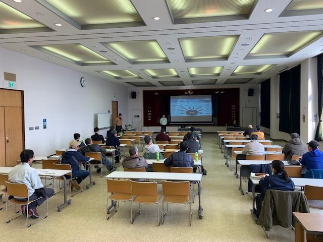 冬季営農講習会の様子2