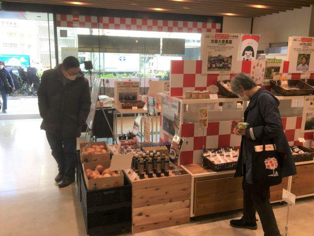JA東京アグリパークでの販売の様子4